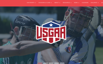 USGAA Launches New Website